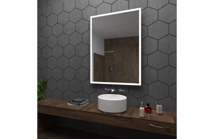 Koupelnové zrcadlo s LED osvětlením 75x100cm BOSTON