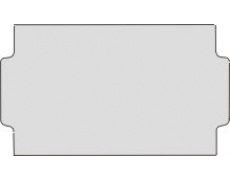 Cenové etikety 31x19mm METO bílé