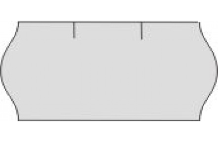 Cenové etikety 26x12mm CONTACT bílé