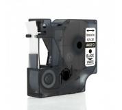 DYMO páska D1 45013 12mm x 7m černo/bílá kompatibilní páska