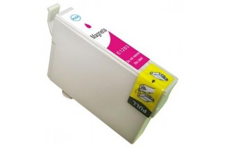 Epson T1283 kompatibilní inkoustová náplň pro Stylus SX125 SX130 SX420W SX425W S22 BX305F, červená 14ml, C13T12834021