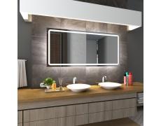 Koupelnové zrcadlo s LED podsvětlením 70x80 cm HOUSTON
