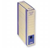 Archivační box HIT Board natur A4 330x260x75mm modrá , archivační krabice