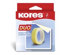 Lepicí páska oboustranná KORES Duo 15mm/5m