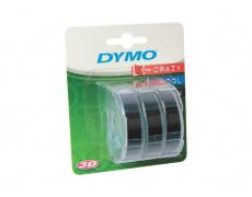 DYMO páska 3D černá 3ks 9mm/3m S0847730