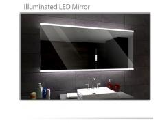 Koupelnové zrcadlo s LED podsvětlením 120x70 cm BRASIL