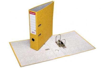 Pořadač pákový A4 PREŠPAN 8cm žlutý