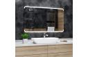 Koupelnové zrcadlo s LED osvětlením 60x40 cm ASSEN